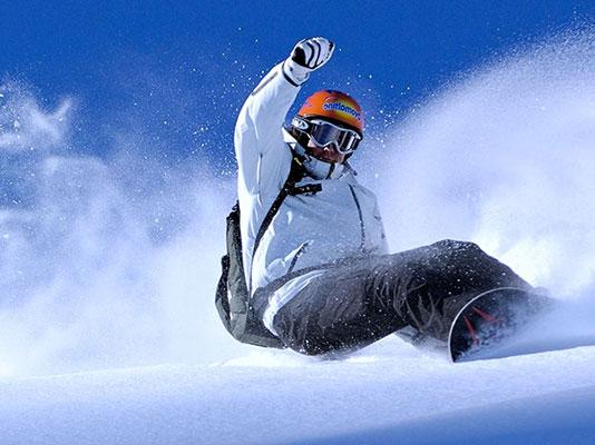 snowboard et boots