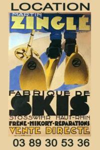 Affiche Zinglé Martin pour Zinglé Sports